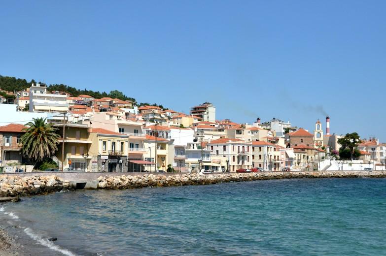 Lesbos Mitilini Meer